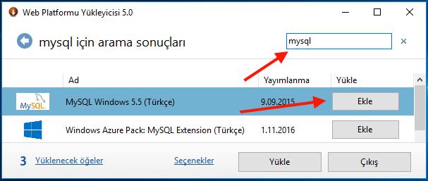 iis_mysql_kurulumu1